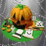Tarta Calabaza de Halloween - ChikiCakes