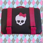 Tarta Maletín Monster High - ChikiCakes