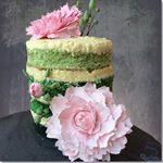 Naked Cake con Peonías