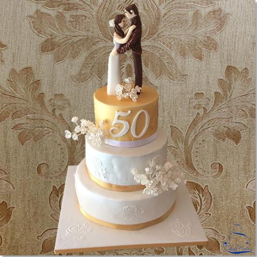Tarta Boda 50 Aniversario