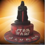 Tarta Darth Vader Star Wars - ChikiCakes