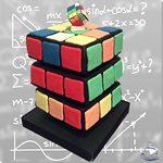 Tarta Cubo Rubik - ChikiCakes
