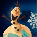 Olaf Frozen - ChikiCakes