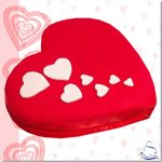 Tarta Corazón Enamorados - ChikiCakes