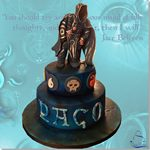 Tarta Jace Beleren Magic The Gathering - ChikiCakes