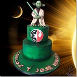 Tarta Yoda Star Wars