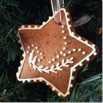 Galletas Estrellas en Navidad