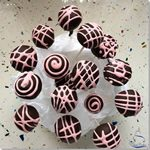 Cake Pops Chicle Fresa