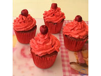 Cupcakes Cereza