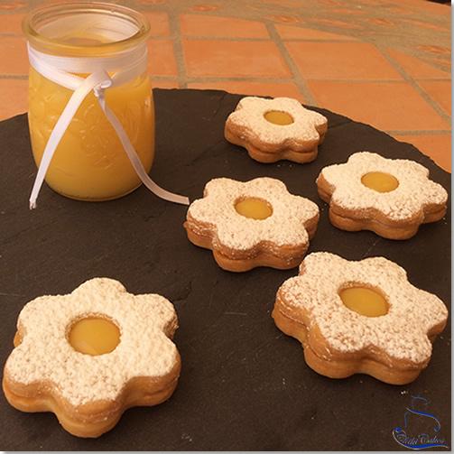 Flores de Galleta de Limón