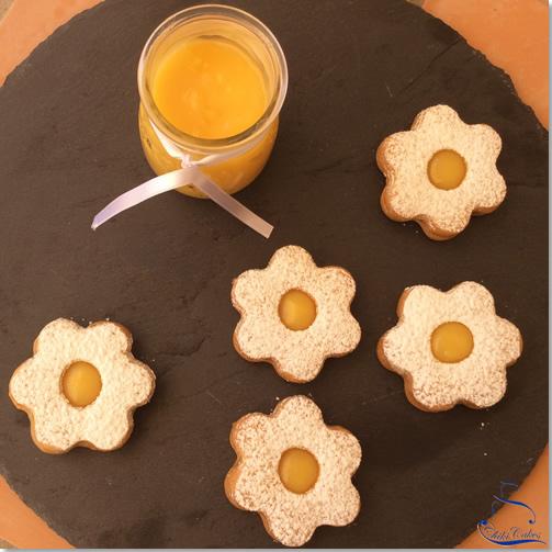 Flores de Galleta con Limón