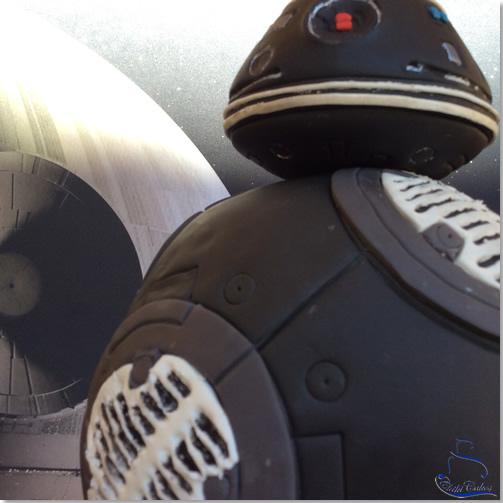 Tarta BB9 Star Wars